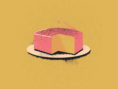 Cake texture cake retro vintage vectorart artist design illustrator graphicdesign digitalart digitaldesign vector illustration