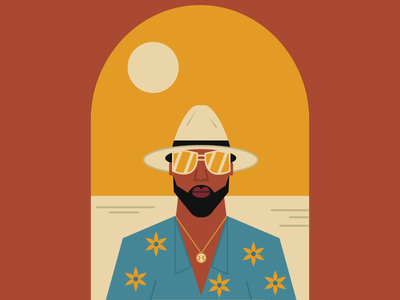Sugar Daddy Slim slimthug digitalart digitaldesign graphicdesign vectorart vector illustrator illustration houston