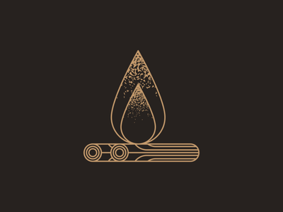 Campfire campfire branding mark logo vectorart design artist illustrator graphicdesign digitalart digitaldesign illustration vector