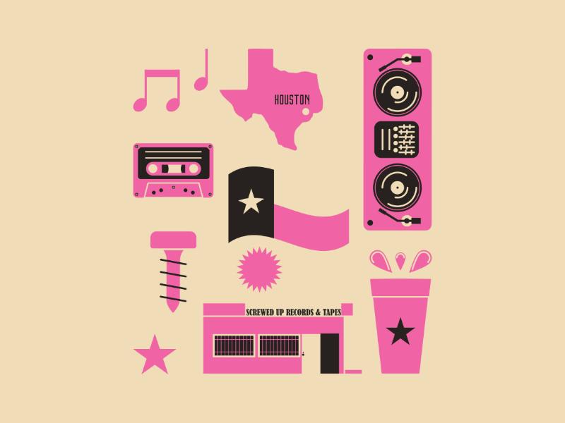 DJ Screw Movement by Amer Karic on Dribbble