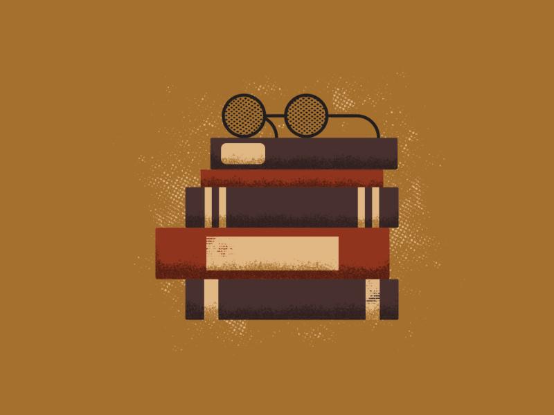Books books art vintage retro vectorart artist design illustrator graphicdesign digitalart digitaldesign vector illustration