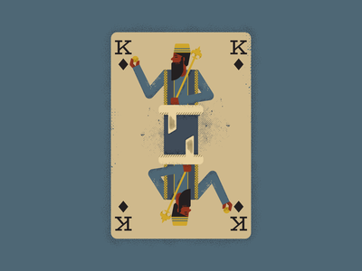 Mansa Musa playing card africa retro vintage vectorart artist design illustrator graphicdesign digitalart digitaldesign vector illustration