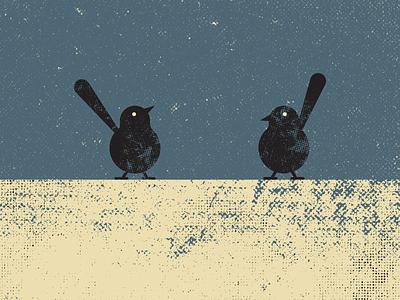 Birds birds vector art vintage retro artist design illustrator graphicdesign digitalart digitaldesign vector illustration