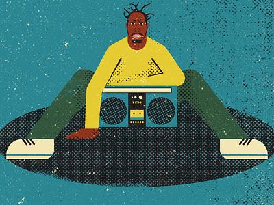 ODB hiphop wutang odb vintage retro vectorart artist design illustrator graphicdesign digitalart digitaldesign vector illustration
