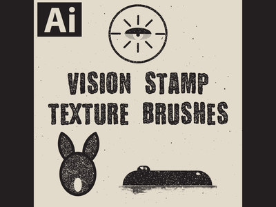 Vision Stamp Texture Brushes