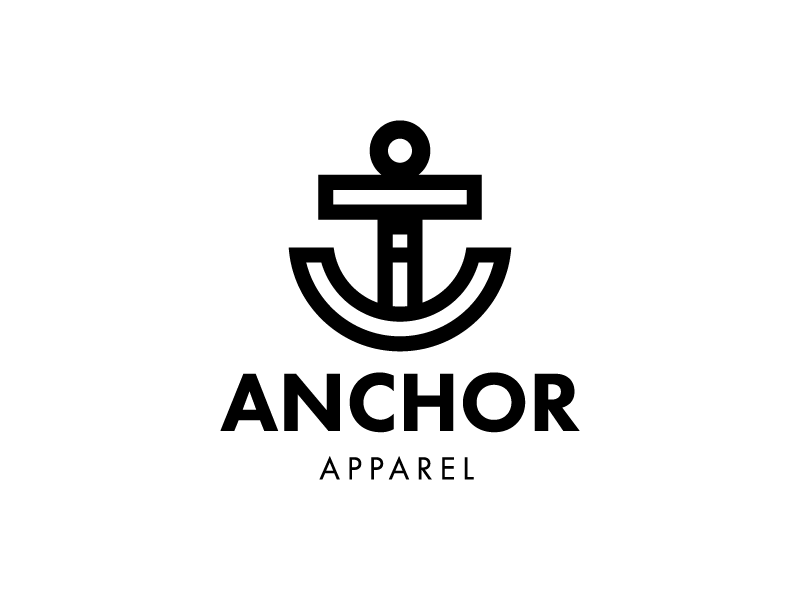 Anchor 1 hour logos thirty logos challenge day 10 by sean anchor logo dribbble thecheapjerseys Choice Image