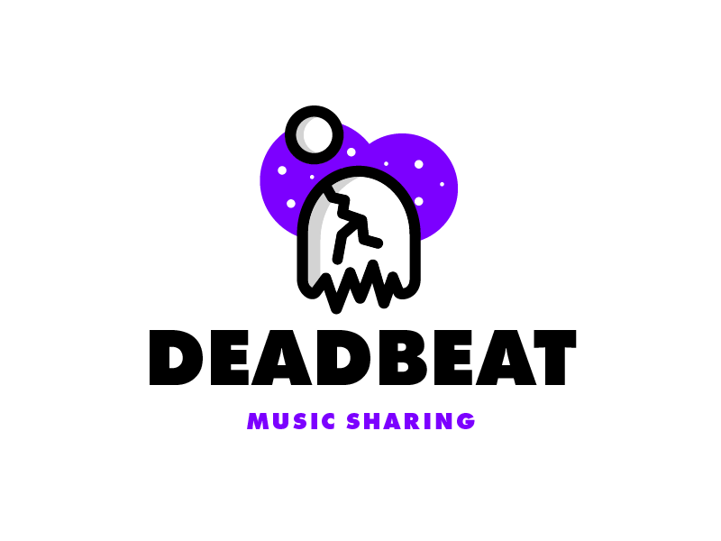 Deadbeat - 1 Hour Logos - Thirty Logos Challenge Day 23 by Sean