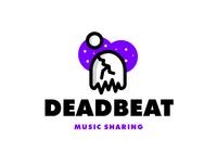 Deadbeat - 1 Hour Logos - Thirty Logos Challenge Day 23