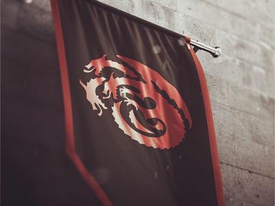 Targaryen Sigil Redesign logo design dragon logo dragon targaryen game of thrones sigil logo