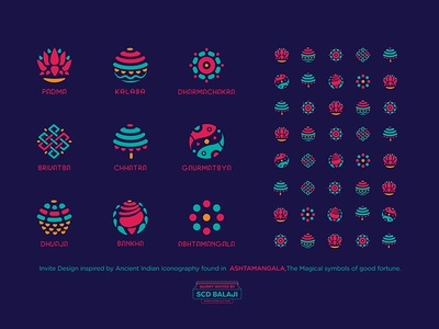 Ashtamangala By Scd Balaji Dribbble