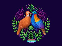 Himalayan Monal - Indian Bird - Amalgam Collection
