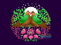 Tamil Nadu's Emerald Dove | Amalgam Collection