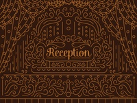 Reception Invitation Design
