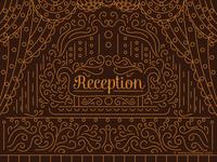 Reception Invitation Design