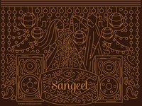 Sangeet Invitation Design