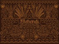 Mehendi Wedding Invitation Design