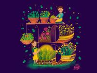 B - Botanist