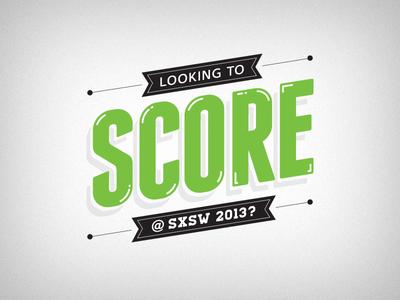 Score at SXSW 2013