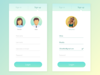 Daily UI - Day 1 Sign Up