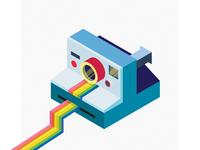 Isometric Polaroid