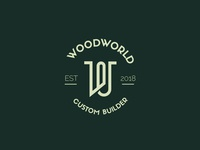 Woodworld logo concept