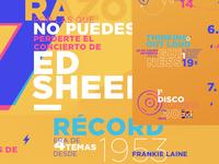 Ed Sheeran Infography