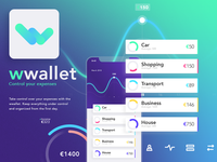 wallet app ux/ui exercise
