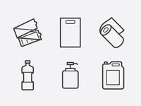 20 free icons for HoReCa