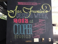 SF Design Week Chalk Wall
