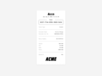 Receipt(Free Source) thermal print thermal printer thermal ui receipts receipt print printer paper wiggly ux design