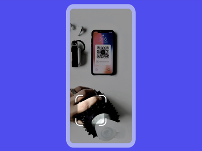 QR Code Scanner 📷 🔊 interaction design code ixd capture camera scanner