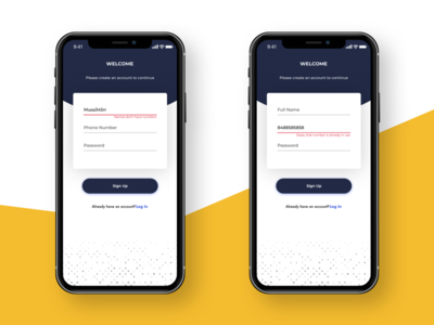 Microcopy ux microcopy mobile forms auth