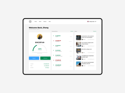 Investment Dashboard dashboard