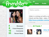 Friendster – redesign