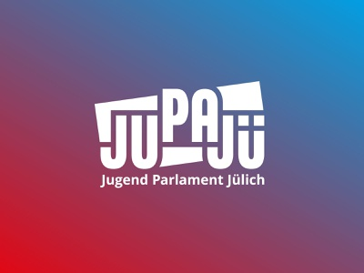 Logo Creation – JuPaJü Stadt Jülich typeface design logo typography logo corporate design identity design brand identity youth parliament geometric logo vector logo branding logotype logo design logo creation