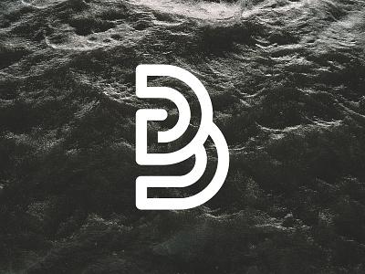 B3 Graphic Logo monogram graphic b3 logo
