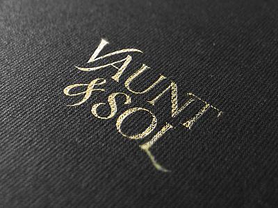 Vaunt & Sol Branding branding fashion identity