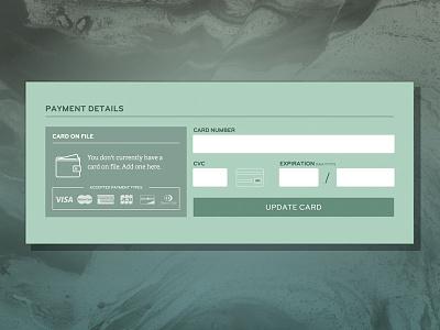 Daily UI 002 - Credit Card daily ui 002 ui credit dard daily ui dailyui