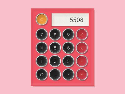 Daily UI 004 - Calculator codepen daily ui 004 typewriter calculator daily ui dailyui