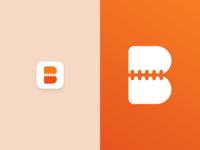 Boundy App Icon illustration app idenity branding stitching photo stitch icon app icon