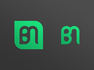 Personal Mark bm initials branding logo personal mark