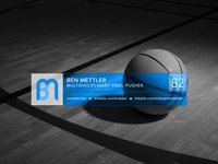 Dribbble Player Card