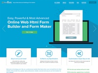 Form2Pay Homepage Redesign
