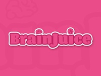 Dribbble Sticker Pack Submission - Brain Juice