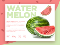 Watermelon Landing page