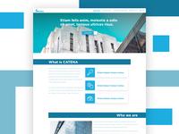 CATENA website