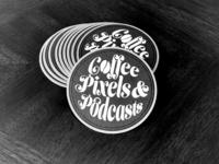 Sticker Mule Coaster Design
