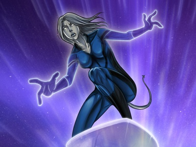 Fantastic 4 Interactive DVD Game Character Design