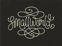 Smallworld Lettering