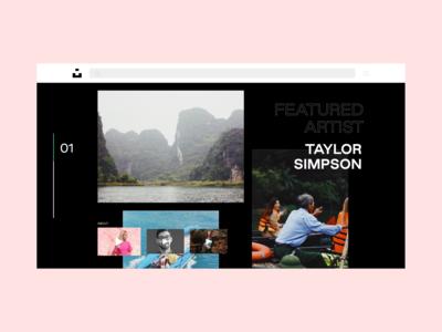 Daily UI Challenge 003: Landing Page — Unsplash